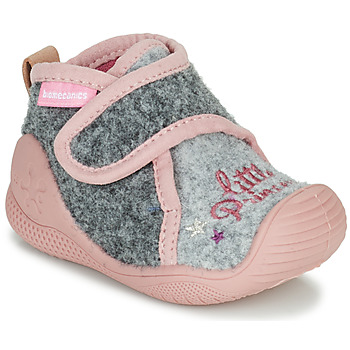 Scarpe Bambina Pantofole Biomecanics BIOHOME Grigio / Rosa