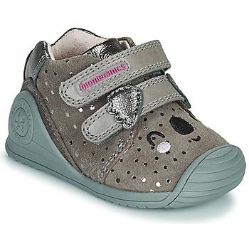 Scarpe Bambina Sneakers basse Biomecanics BIOGATEO CASUAL Taupe