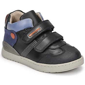 Scarpe Bambino Sneakers alte Biomecanics BIOEVOLUTION BOY Marine
