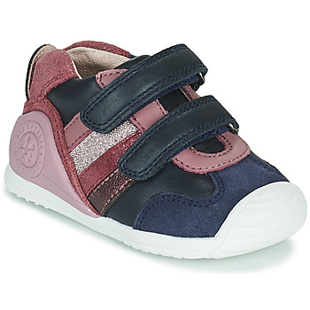 Scarpe Bambina Sneakers basse Biomecanics BIOGATEO SPORT Marine / Rosa