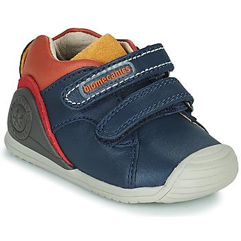 Scarpe Bambino Sneakers basse Biomecanics BIOGATEO CASUAL Marine