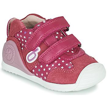 Scarpe Bambina Sneakers basse Biomecanics BIOGATEO SPORT Rosa