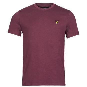 Abbigliamento Uomo T-shirt maniche corte Lyle & Scott ROBINA Bordeaux