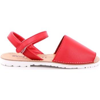 Scarpe Bambina Sandali Evoca 11 - AMY Rosso