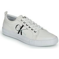 Scarpe Donna Sneakers basse Calvin Klein Jeans VULCANIZED LACEUP SNEAKER Bianco