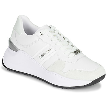Scarpe Donna Sneakers basse Calvin Klein Jeans RYLIE LACE UP 3 Bianco