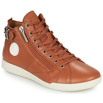 Scarpe Donna Sneakers alte Pataugas PALME Camel