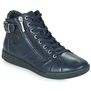 Scarpe Donna Sneakers alte Pataugas PALME Marine