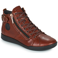 Scarpe Donna Sneakers alte Pataugas PALME Castagna