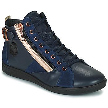 Scarpe Donna Sneakers alte Pataugas PALME Marine / Rosa
