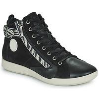 Scarpe Donna Sneakers alte Pataugas PALME Nero