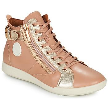 Scarpe Donna Sneakers alte Pataugas PALME Beige / Leo
