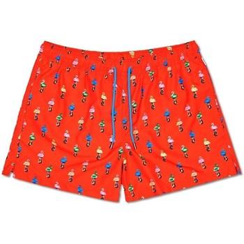 Abbigliamento Uomo Costume / Bermuda da spiaggia Happy Socks Flamingo Swimshorts