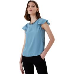 Abbigliamento Donna T-shirt maniche corte Liu Jo Top Azzurro