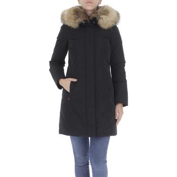 Abbigliamento Donna Piumini Woolrich Giaccone Nero