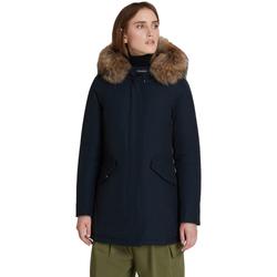 Abbigliamento Donna Piumini Woolrich Giaccone Blu