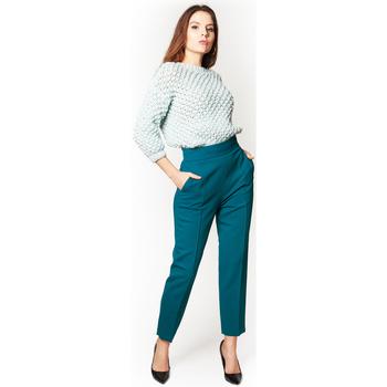 Abbigliamento Donna Chino Elisabetta Franchi Pantalone Ottanio