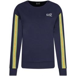 Abbigliamento Donna T-shirt maniche corte Emporio Armani EA7 Felpa  3KTM13 TJU6Z Donna Blu scuro Blu