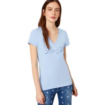 Abbigliamento Donna T-shirt maniche corte Liu Jo T-shirt Azzurro