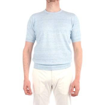 Abbigliamento Uomo T-shirt maniche corte Filippo De Laurentis EFFUOGC11MC-LC14R Manica Corta Uomo Cielo Cielo