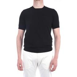 Abbigliamento Uomo T-shirt maniche corte Filippo De Laurentis EFFUOGC11MC-CR14R Manica Corta Uomo Nero Nero