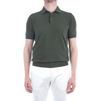 Abbigliamento Uomo Polo maniche corte Filippo De Laurentis X23691 Maniche Corte Uomo Verde Verde