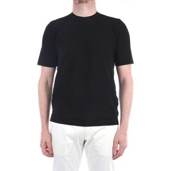 Abbigliamento Uomo T-shirt maniche corte Filippo De Laurentis EFFUOTS00MC-CR14L Manica Corta Uomo Nero Nero