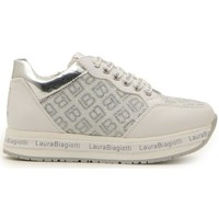 Scarpe Bambina Sneakers basse Laura Biagiotti LAURA B. 70822 BIANCO