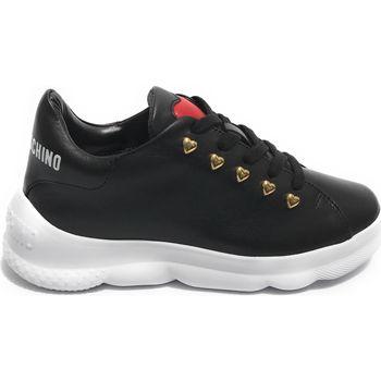 Scarpe Donna Sneakers basse Moschino DS21MO18  Love Black