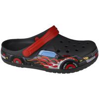 Scarpe Unisex bambino Zoccoli Crocs Fun Lab Truck Band Clog Grise