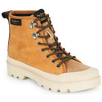 Scarpe Donna Sneakers alte Pepe jeans ASCOT DESERT Camel