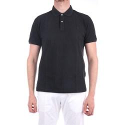 Abbigliamento Uomo Polo maniche corte Brooksfield 201A.A057 Maniche Corte Uomo Nero scarico Nero scarico