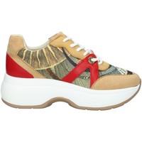 Scarpe Donna Sneakers basse Gattinoni PEGDF6165 SNEAKERS  Donna BEIGE ROSSO BEIGE ROSSO