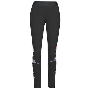 Abbigliamento Donna Leggings adidas Performance FLORL GFX TIGHT Nero