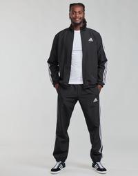 Abbigliamento Uomo Tuta adidas Performance M 3S WV TT TS Nero