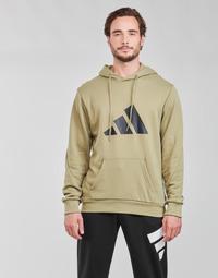 Abbigliamento Uomo Felpe adidas Performance M FI 3B HOODIE Verde / Orbite