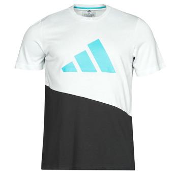 Abbigliamento Uomo T-shirt maniche corte adidas Performance FUTURE BLK TEE Bianco