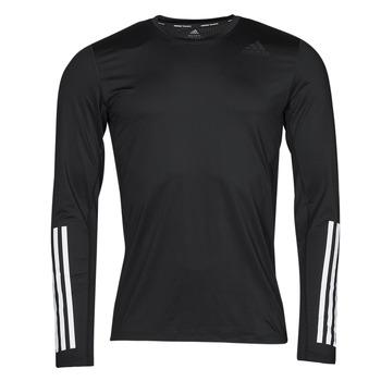 Abbigliamento Uomo T-shirts a maniche lunghe adidas Performance TF LS FT 3S Nero