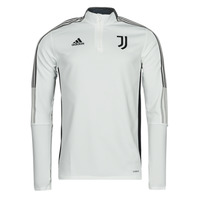 Abbigliamento Giacche sportive adidas Performance JUVE TR TOP Bianco
