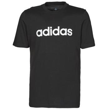 Abbigliamento Uomo T-shirt maniche corte adidas Performance M LIN SJ T Nero
