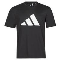 Abbigliamento Uomo T-shirt maniche corte adidas Performance M FI 3B TEE Nero