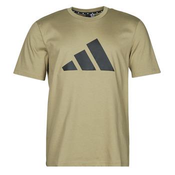 Abbigliamento Uomo T-shirt maniche corte adidas Performance M FI 3B TEE Verde / Orbite