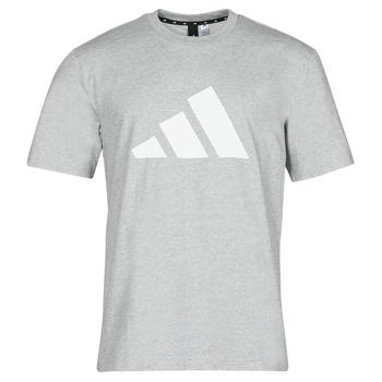 Abbigliamento Uomo T-shirt maniche corte adidas Performance M FI 3B TEE Bruyère / Grigio / Moyen