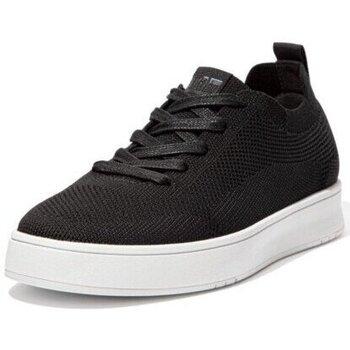 Scarpe Uomo Sneakers basse FitFlop RALLY MULTI KNIT SNEAKERS - BLACK BLACK