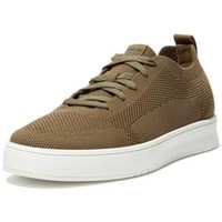 Scarpe Uomo Sneakers basse FitFlop RALLY MULTI KNIT SNEAKERS - MILITARY GREEN BLACK