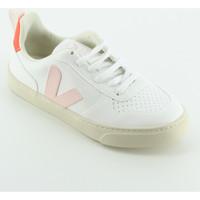 Scarpe Bambina Sneakers basse Veja CKL072557 Sneaker bassa lacci Rosa