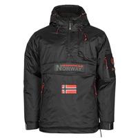Abbigliamento Uomo Parka Geographical Norway BARKER Nero