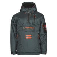 Abbigliamento Uomo Parka Geographical Norway BARKER Grigio / Scuro