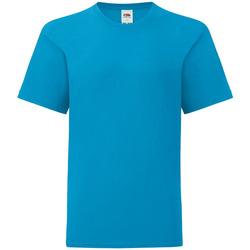 Abbigliamento Unisex bambino T-shirt maniche corte Fruit Of The Loom 61023 Multicolore
