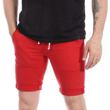 Abbigliamento Uomo Shorts / Bermuda Paname Brothers PB-BRAVO Rosso